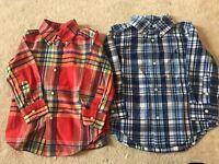Ralph Lauren Shirts Age 2 x 2