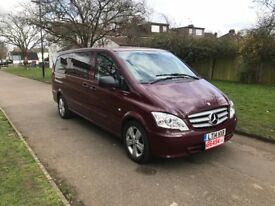 Mercedes-Benz Vito 2.1 116CDI Traveliner Long Bus, 6 MONTH FREE WARRANTY, 9 SEATS