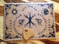 Wooden Ouija Board 43 x 58cm (16.9 x 22.8 inch) with Planchette