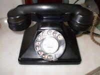 Old Black GPO Telephone