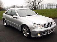 2006 MERCEDES C320 CDI AUTO *221BHP* SAT NAV LIKE C220 E320 E220 320D 330D X TYPE MONDEO PASSAT A4