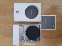 Nest mini speaker in charcoal
