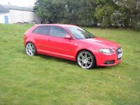 2008 AUDI A3 2,0 TDI S LINE FULL LEATHER INTERIOR 19 INCH ALLOYS VERY FRESH EXAMPLE