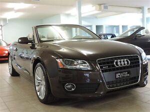 2012 Audi A5 2.0T Premium QUATTRO GAR 2 ANS/40, 000 KMDÉCAPOTAB