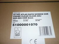 Bath screen from The Bath Store, excellent condition still in original packaging.