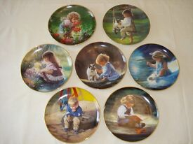Decorative wall plates - Moments of Wonder plates (set of 7)