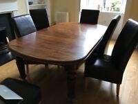 Mahoganay dining table