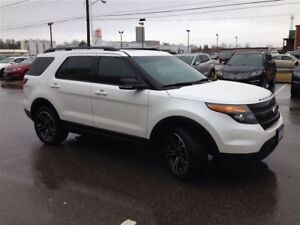 2015 Ford Explorer Sport 4WD - Leather, Nav, Pano Roof