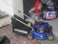 hyundai 99cc petrol lawnmower