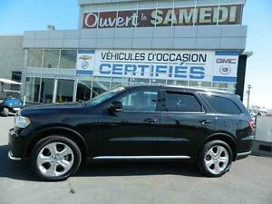 2015 Dodge Durango Limited 4X4 TV-DVD + CUIR + JANTES DE 20