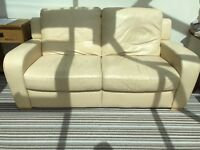 2 SEAT LEATHER SOFA