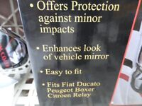 Fiat Ducato Chrome Mirror Covers (Fits Others-see advert)