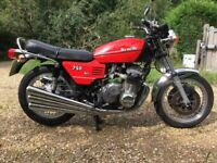 1977 Benelli Sei 750 Classic Motorcycle, 375 miles from new