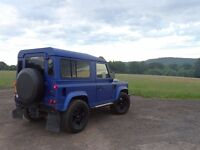 LANDROVER DEFENDER 90 TD5 MULTIPLE UPGRADES AMAZING CONDITION 77K WITH SERVICE HISTORY 12MONTHS MOT