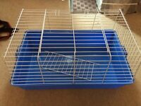 NEW Indoor small pet cage with plastic base and removable cage top