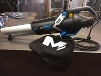 Mac Allister MBV 3000 Electric Garden Leaf Blow Vacuum