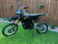 125cc Dirt bike, pit bike, motorcycle