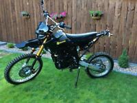 125cc Dirt bike, pit bike, motorcycle