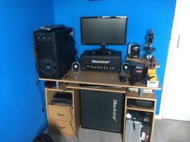 Blackstar Ht5 guitar amp and hvt112 cab