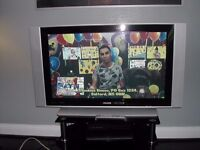 Phillips 42 inch TV with stand