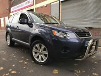 Mitsubishi Outlander 2009 2.0 DI-D Elegance 5 door FULLY LOADED, SAT NAV, LEATHER, 7 SEATER, CAMERA