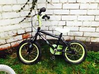16inch boys first Apollo bike - used but good working order