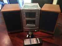 JVC Micro Component Speaker System UX-T55