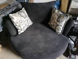 Large snug/swivel chair