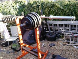 Olympic weights Barbell 7ft