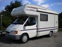 Compass motorhome,2.5tdi.33,950miles new m o t .1999reg immac .full history.needs nothing.retireale.