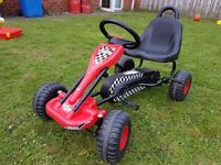 Kids Go Kart - Black & Red As New £50 ONO