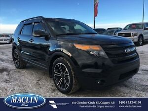 2015 Ford Explorer Sport, Leather Seats, Duel Moonroof, Nav