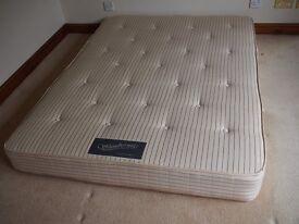 Double orthodedic mattress