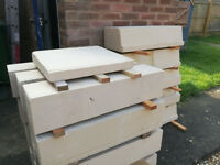 Bath Stone Window Sills (Surplus To requirements)