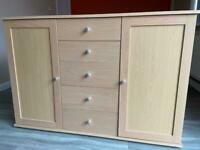 Sideboard with 5 draws