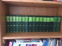 Collection of Scottish Current Law Year Books 1972-87 used in excellent condition