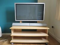 """42"""" LG Plasma Monitor, Speakers and Stand"""