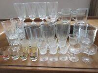 Box of Mixed Bar Glassware