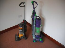 Dyson Hoovers DC24 and a DC04