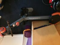 Free rowing machine