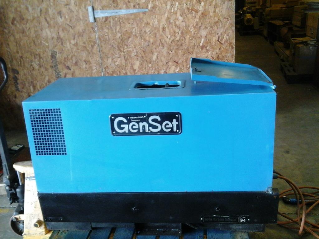 Genset welder generator