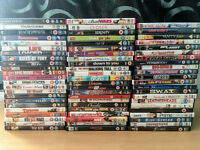 68 Dvd's For Sale / Various Genres