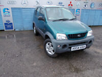 PART X DIRECT OFFERS THIS CLEAN DAIHATSU TERIOS 4X4 1.3 PETROL WITH NEW MOT SERVICE +WARRANTY !!