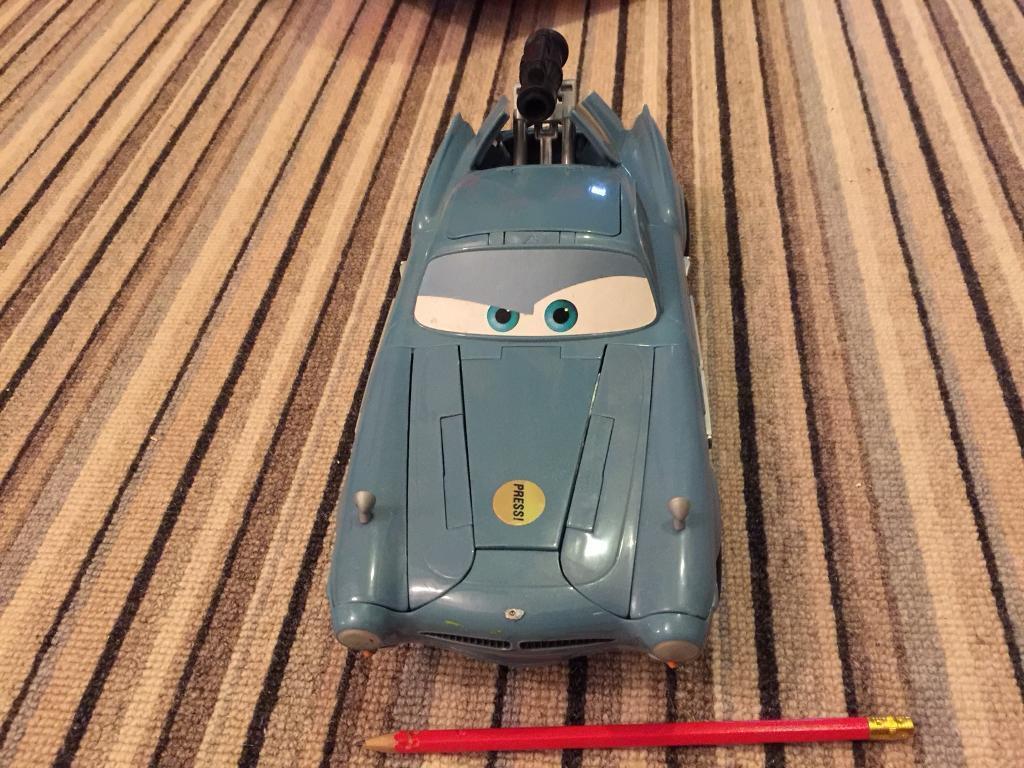 Disney Cars FINN MCMISSLE CAR