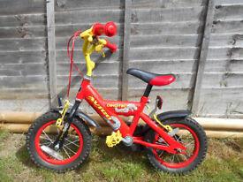 "Boy's Avigo Dinotec 12"" Bike"