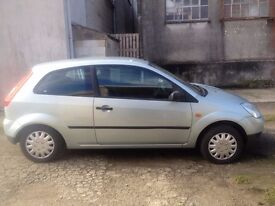 Ford Fiesta 1.2 LX 3 door hatchback