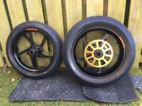 Suzuki GSX-R600/750 K8-L0 OZ Piega Wheels