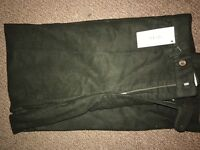 Men's Moleskin Trousers (DARK GREEN)