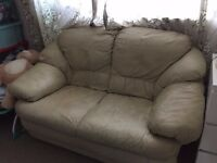 2 seats leather sofa for sale