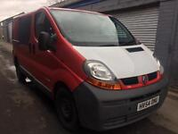 SALE! Bargain Renault trafic crew cab lwb, NO VAT! long MOT ready for work